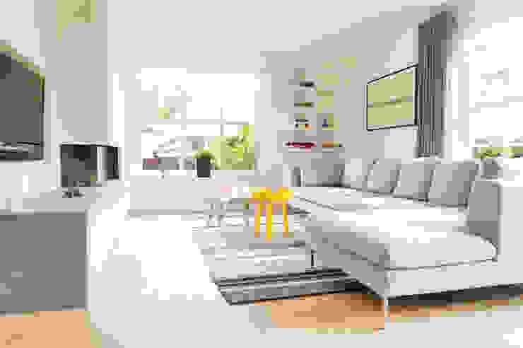Modern living room by Jolanda Knook interieurvormgeving Modern