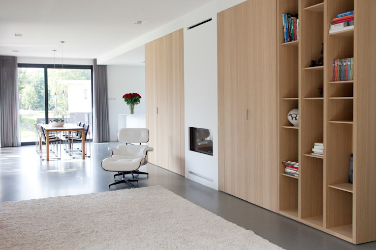 Archstudio Architecten | Villa's en interieur Living room