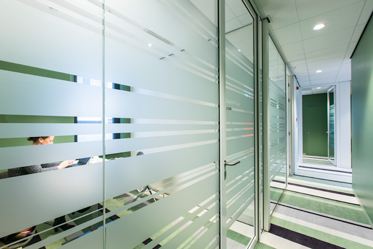 kantoren, spreekkamers Moderne kantoor- & winkelruimten van maria haag architectuur Modern