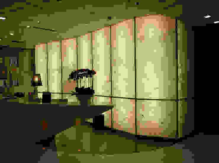Back Lit Faux Alabaster Asian style hotels by ShellShock Designs Asian