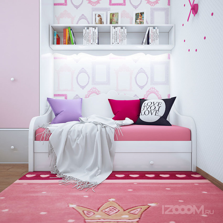 Eclectic style nursery/kids room by izooom Eclectic