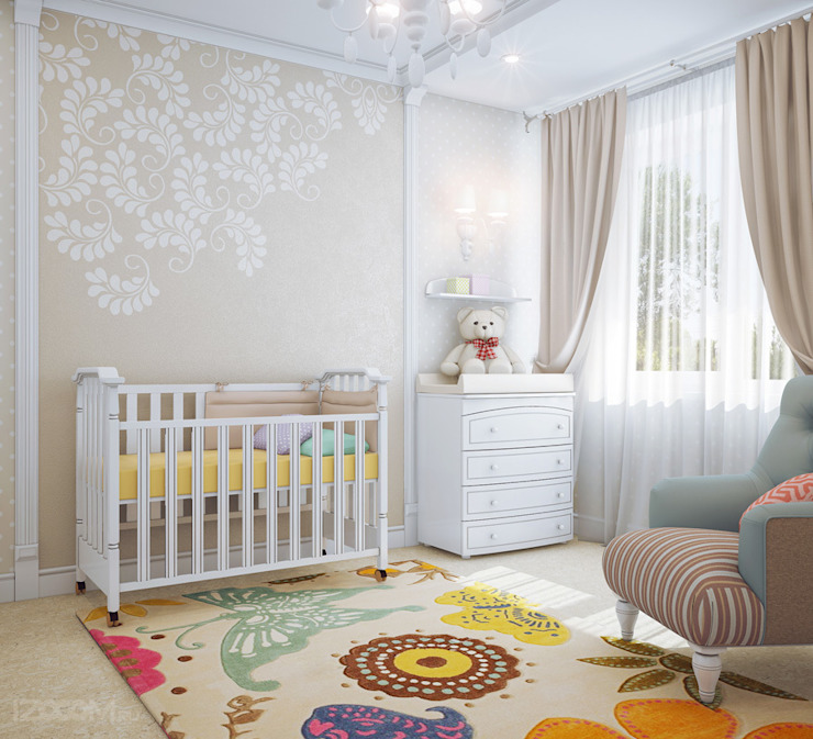 Nursery/kid's room by izooom, Classic