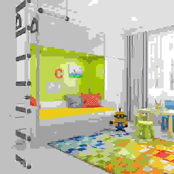 Modern nursery/kids room by izooom Modern