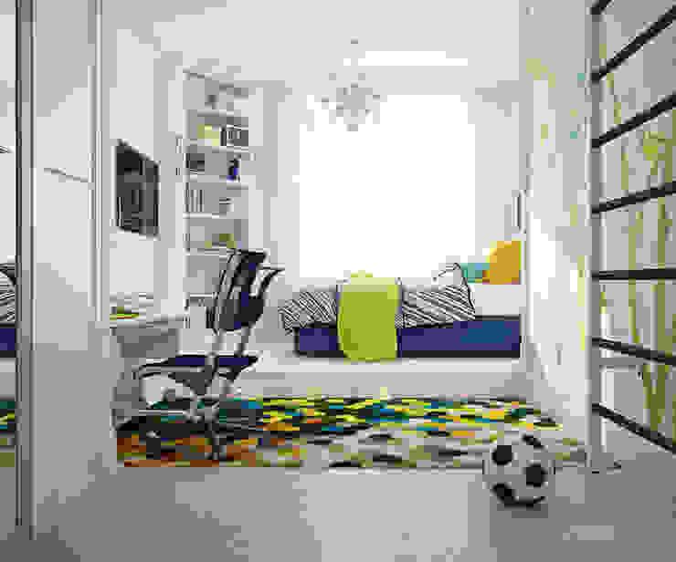подборка детских комнат Детская комнатa в стиле минимализм от izooom Минимализм