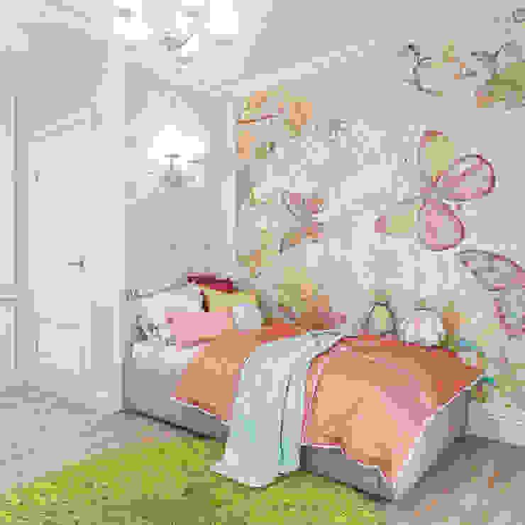 подборка детских комнат izooom Детская комнатa в классическом стиле