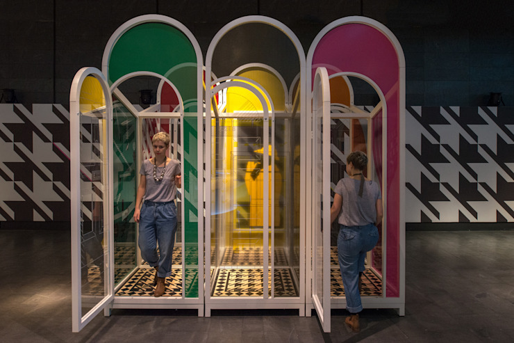Mind Maze Eclectic style museums by Sean & Stephen architects Eclectic
