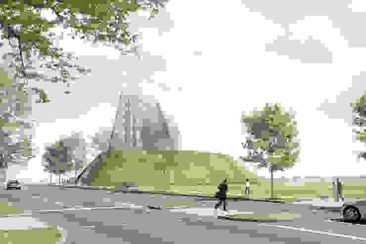 Außenperspektive: Wettbewerb von Bohn Architekten GbR