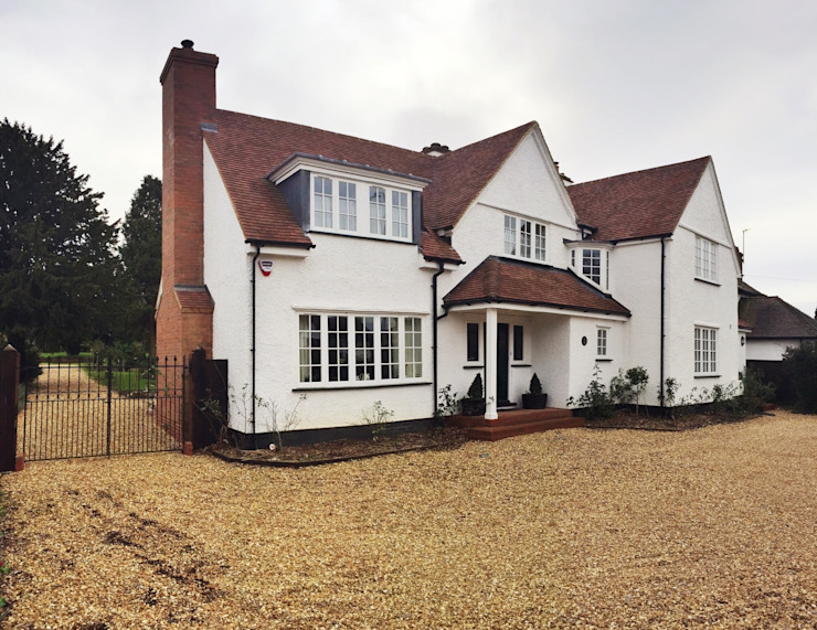 Baldock Road, Letchworth Garden City Country style houses by Pentangle Design Country