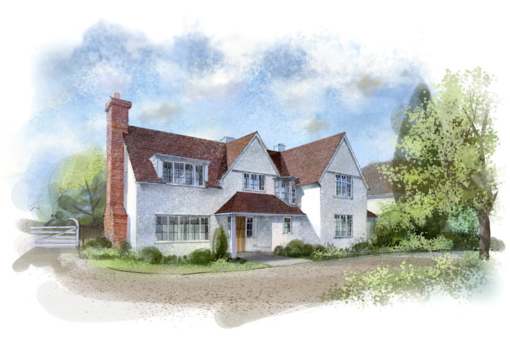 Artists impression of the design: country  by Pentangle Design, Country