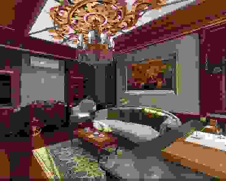 Кабинет Рабочий кабинет в классическом стиле от Студия дизайна Натали Хованской Классический