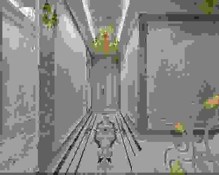 Холл Коридор, прихожая и лестница в классическом стиле от Студия дизайна Натали Хованской Классический