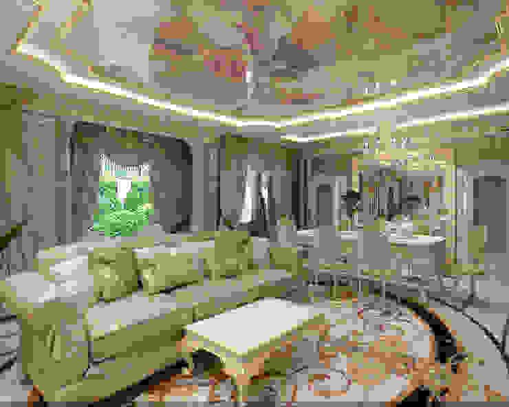Salas de estar clássicas por Студия дизайна Натали Хованской Clássico