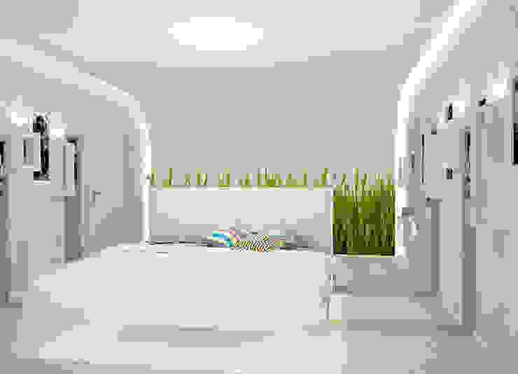 Пентхаус в стиле Лофт 2 Спальня в стиле лофт от ELEGANZA Лофт
