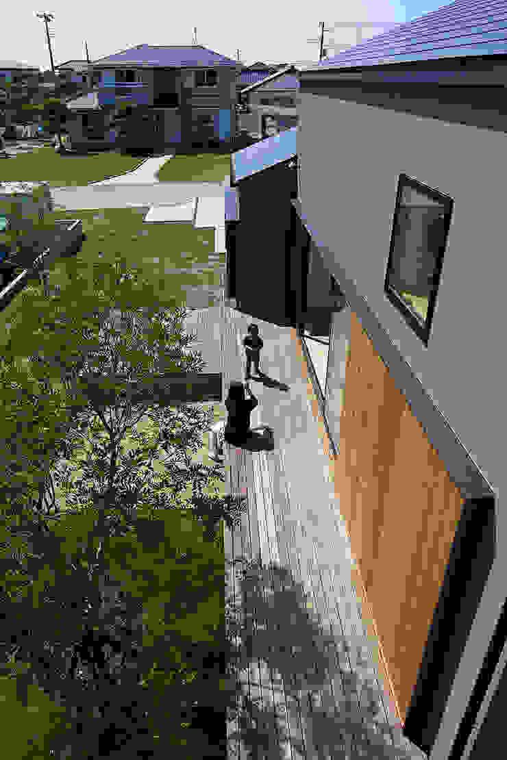 House – KT モダンな庭 の 佐々木達郎建築設計事務所 モダン