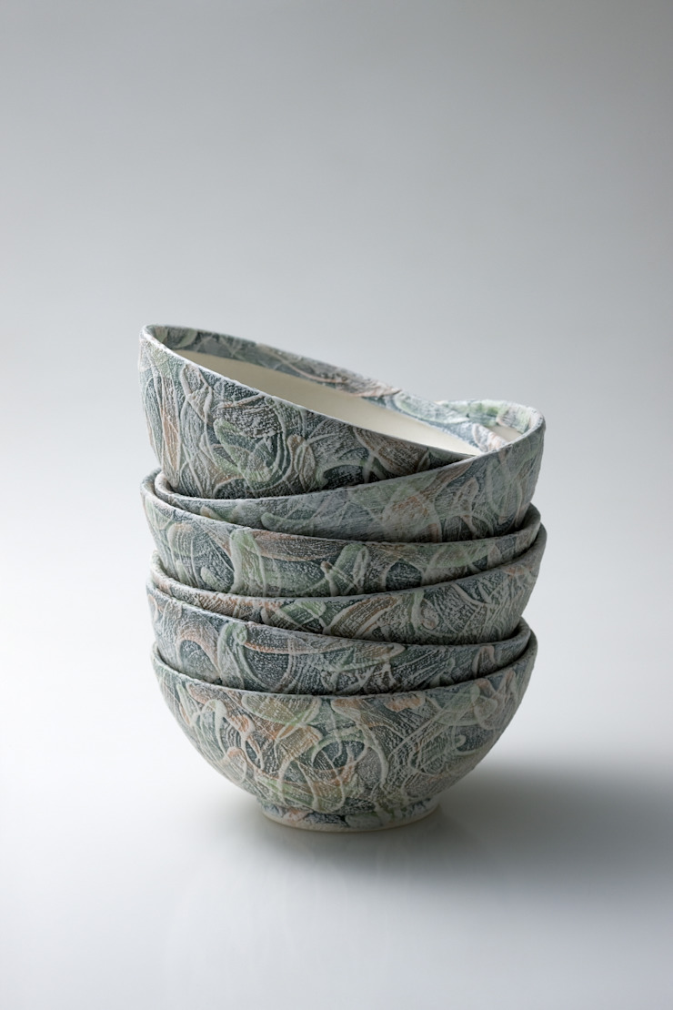 table ware - Snowy - bowl(M) by 김세현