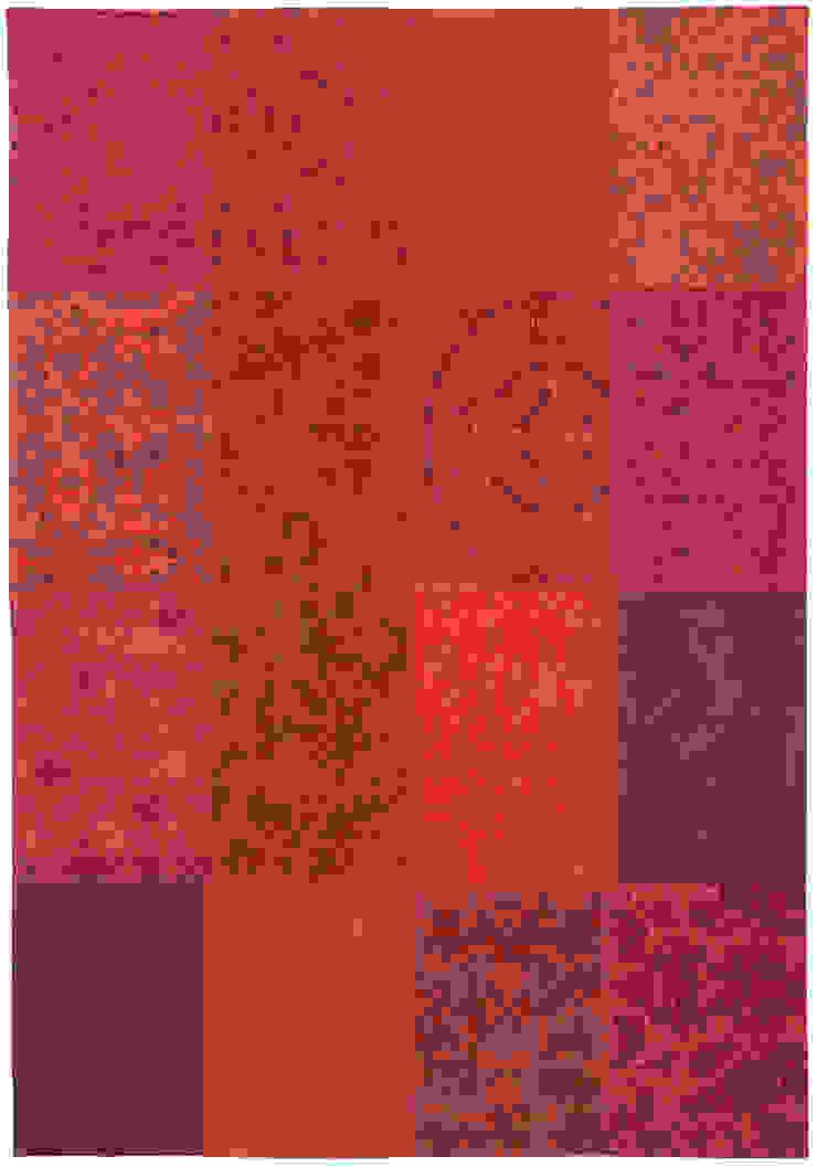 Patchwork - Orange Purple 8103: modern  door louis de poortere, Modern