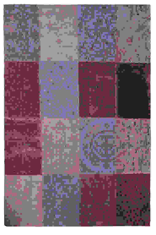 Patchwork - Pale Purple 8008: modern  door louis de poortere, Modern