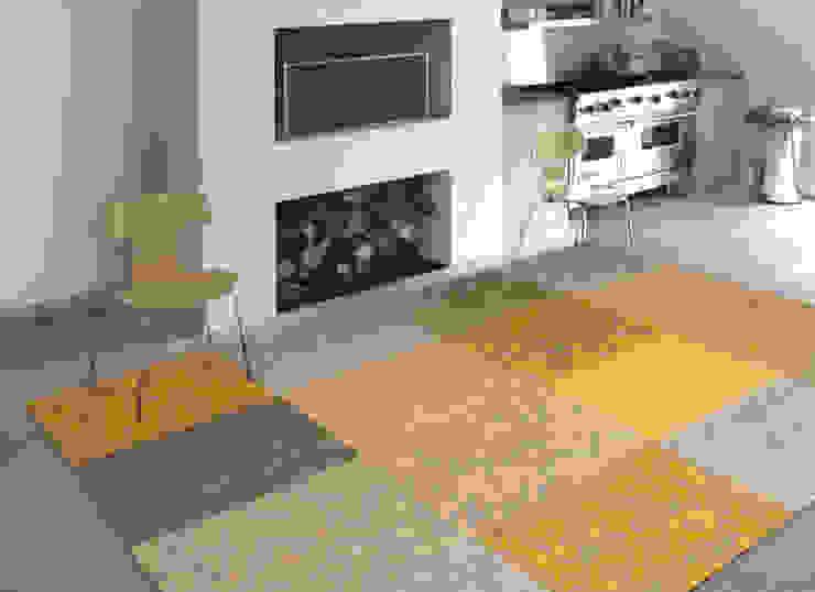 Patchwork - Yellow 8084 - Interior: modern  door louis de poortere, Modern