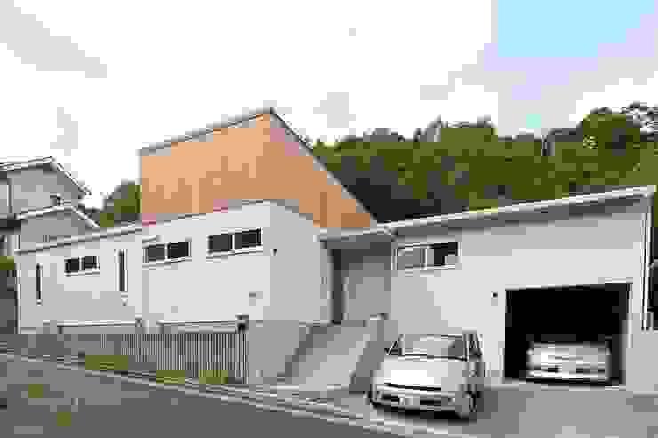 高低差を利用した平屋建ての住まい 北欧風 家 の みゆう設計室 北欧