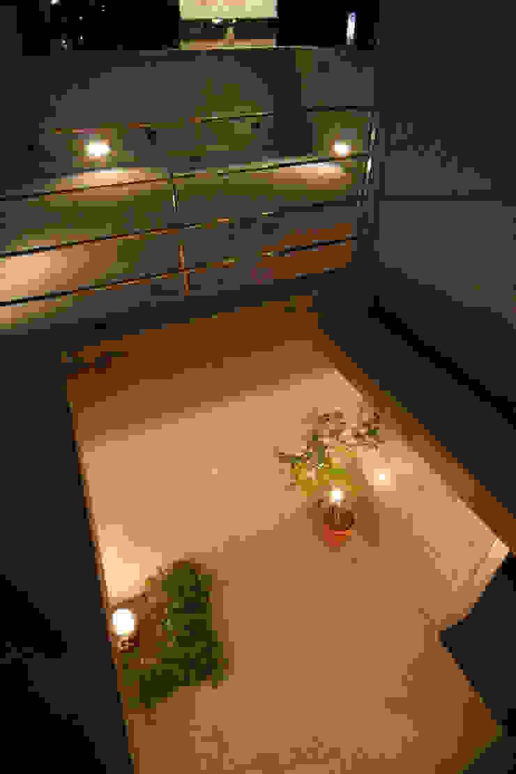 稲沢の家 オリジナルな 庭 の 五藤久佳デザインオフィス有限会社 オリジナル