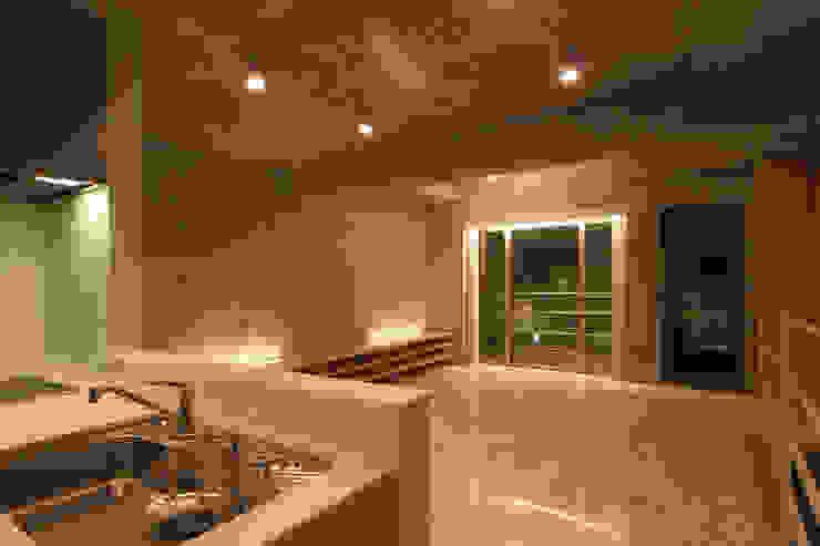 稲沢の家 オリジナルデザインの ダイニング の 五藤久佳デザインオフィス有限会社 オリジナル