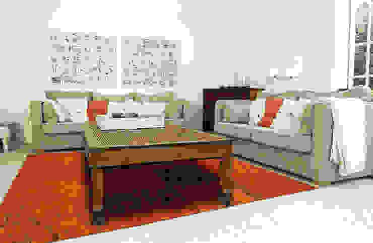 Patchwork - Orange 8010 - Interior: modern  door louis de poortere, Modern