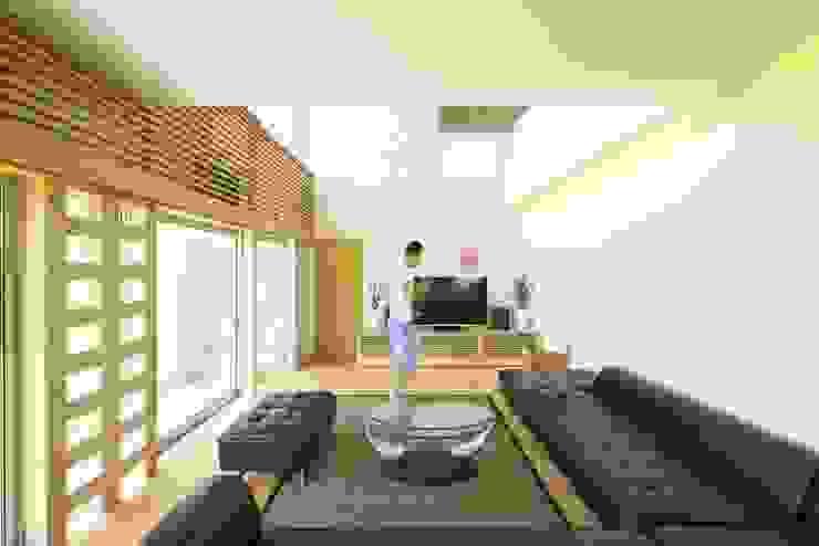 社宮司の家 オリジナルデザインの リビング の 五藤久佳デザインオフィス有限会社 オリジナル