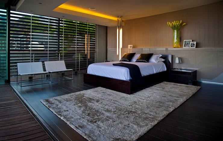 House Tat Nico Van Der Meulen Architects Modern style bedroom