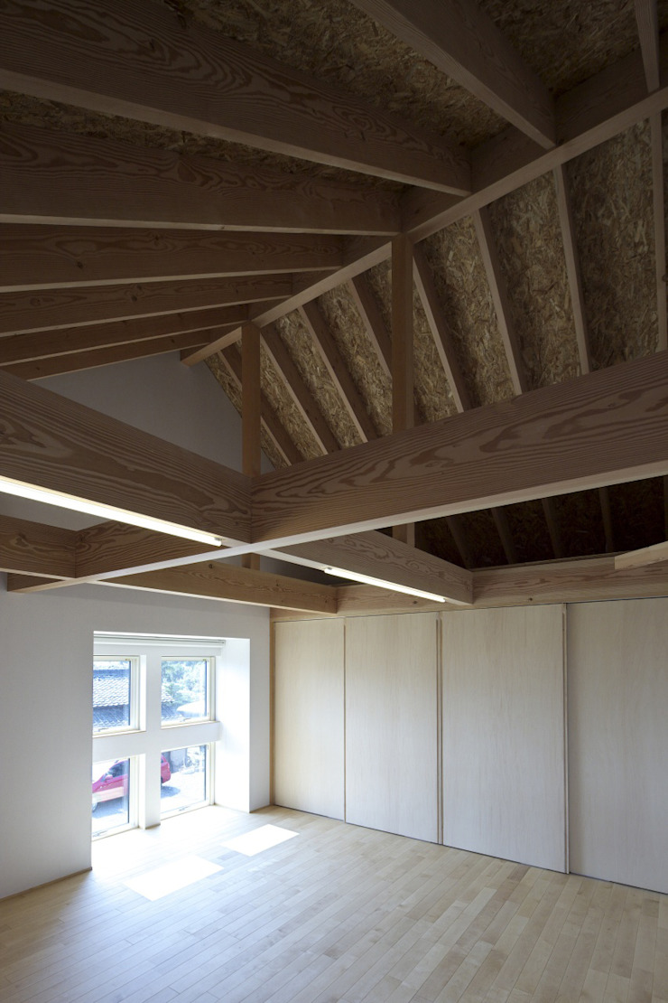 南濃の家 オリジナルスタイルの 寝室 の 五藤久佳デザインオフィス有限会社 オリジナル