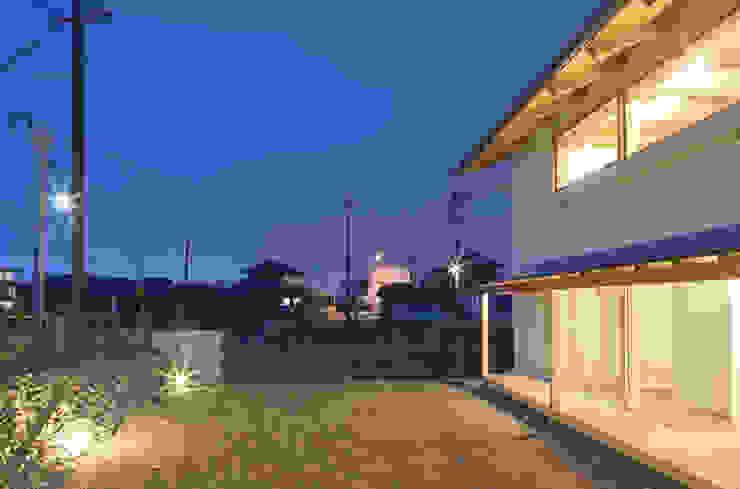 扶桑の家 オリジナルな 庭 の 五藤久佳デザインオフィス有限会社 オリジナル