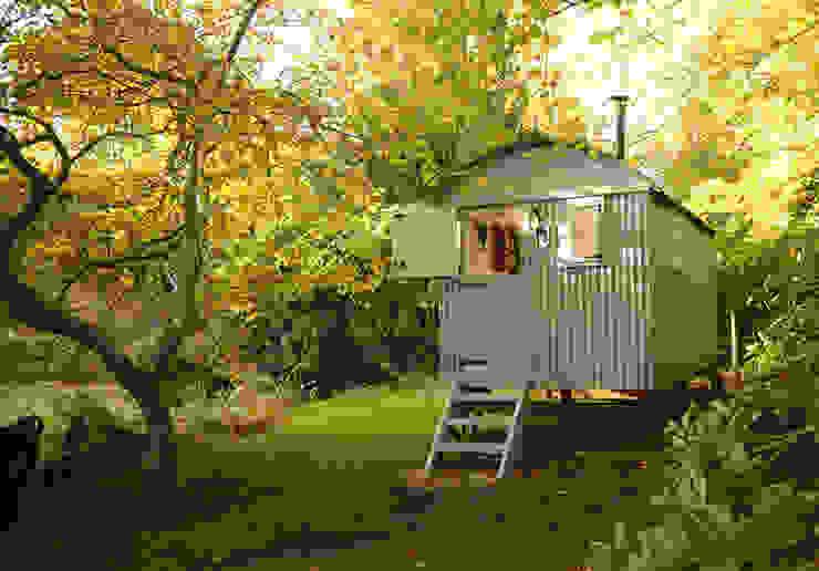 Garden room Jardin rustique par Roundhill Shepherd Huts Rustique