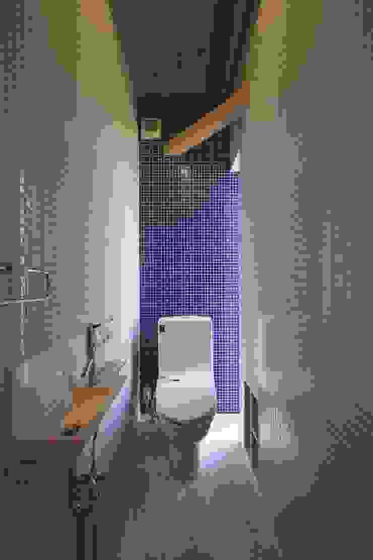 道路時の家 オリジナルスタイルの お風呂 の 五藤久佳デザインオフィス有限会社 オリジナル