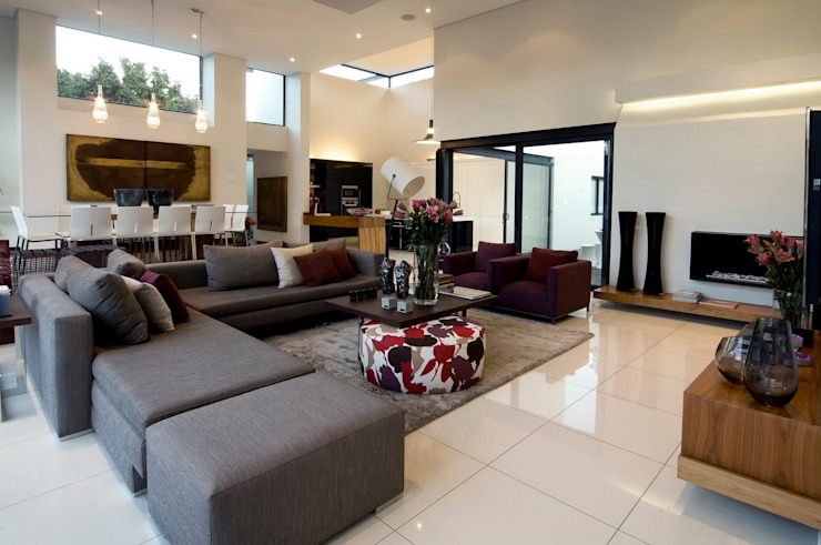 House Mosi Modern living room by Nico Van Der Meulen Architects Modern