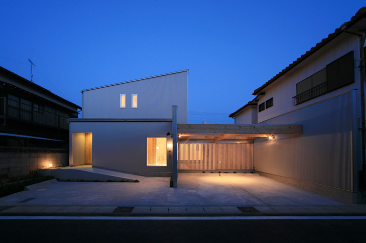 에클레틱 주택 by 五藤久佳デザインオフィス有限会社 에클레틱 (Eclectic)
