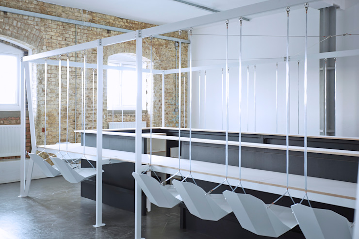 Swing Bar Eclectic style commercial spaces by Duffy London Eclectic