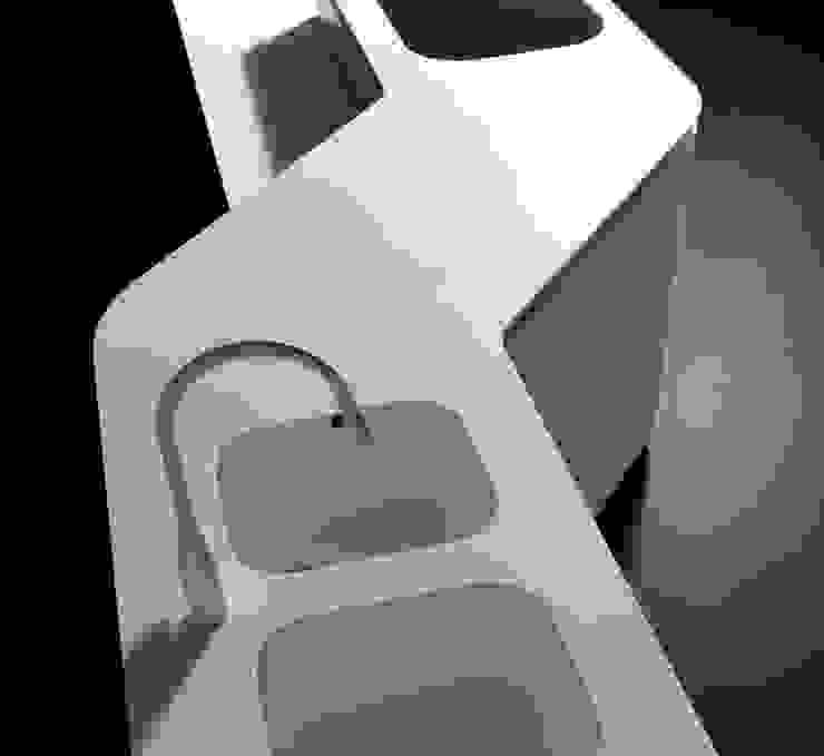 Sinuosa per Effeti di Vegni Design Minimalista