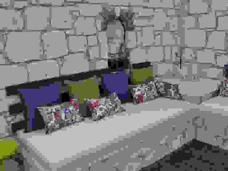 Yu-Ga Otel Havuz Başı Tuncer Sezgin İç Mimarlık Akdeniz