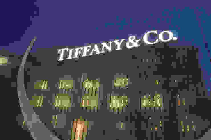 Verkaufspavillon für TIFFANY & Co. Ausgefallene Ladenflächen von LESON Innenarchitektur x Objektmanagement Ausgefallen