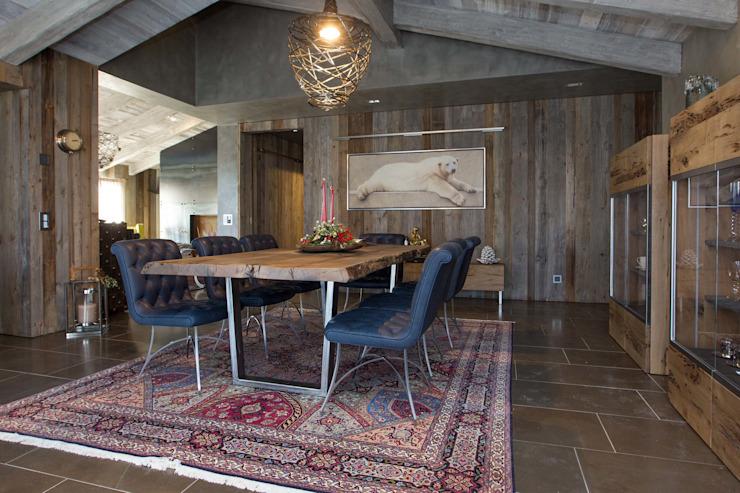 Sala da pranzo Sala da pranzo moderna di DF Design Moderno