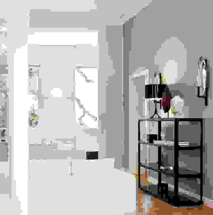 Belvedere Bologna Soggiorno minimalista di Pederzoli Ricci & associati - Interior design Minimalista