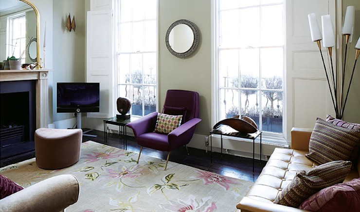 Marylebone Family House Modern living room by Peter Bell Architects Modern