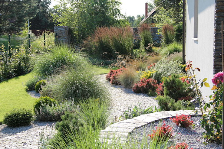 hiện đại  theo Garden Idea - Projektowanie Ogrodów, Hiện đại
