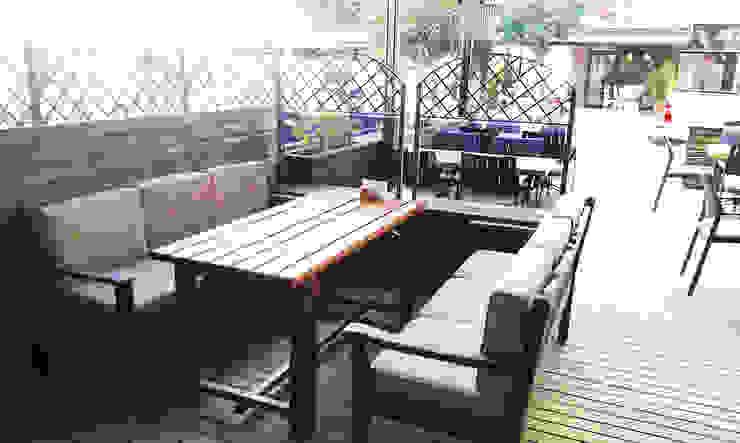 Beefer Steak House Modern Evler Emre Urasoğlu İç Mimarlık Tasarım Ltd.Şti. Modern