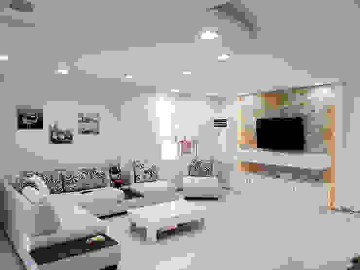Salon de style  par Emre Urasoğlu İç Mimarlık Tasarım Ltd.Şti.