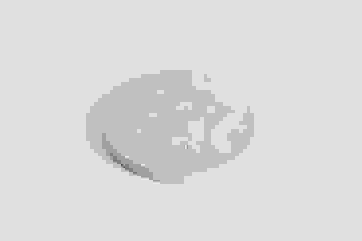 SMIN Rest collection - Concrete planter, coaster, candle holder : SMIN의 현대 ,모던