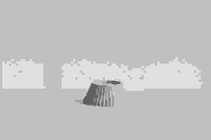 SMIN Rest collection - Concrete candle holder : SMIN의 현대 ,모던