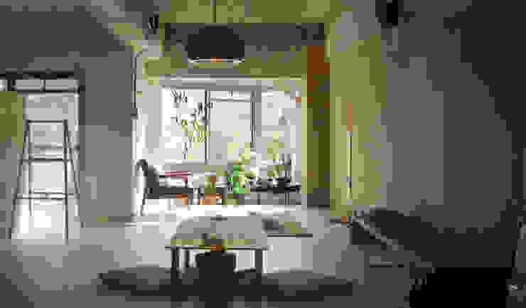 Ausgefallene Wohnzimmer von HANKURA Design Ausgefallen