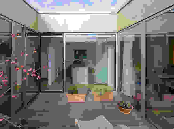 neues bauen am horn Osterwold°Schmidt EXP!ANDER Architekten Moderner Balkon, Veranda & Terrasse