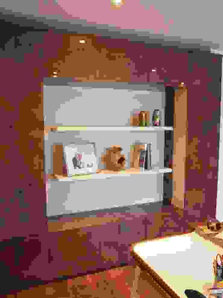 Storage and display unit: modern  by Designer Vision and Sound: Bespoke Cabinet Making, Modern