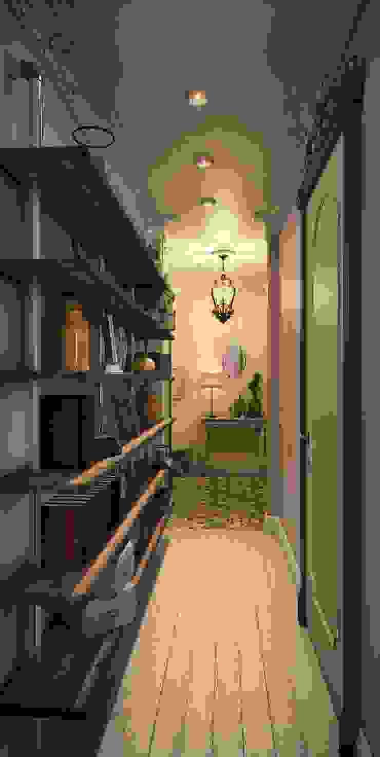 Marina Sarkisyan Eclectic style living room